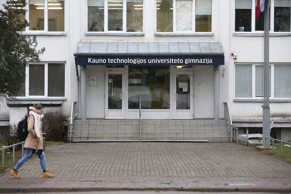 Aliaus Koroliovo/15min nuotr./Kauno technologijos universiteto gimnazija
