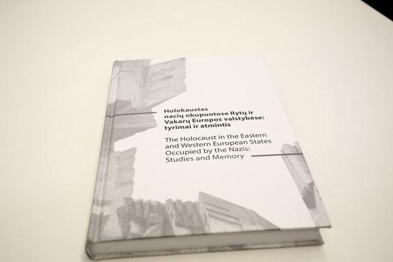 Aliaus Koroliovo/15min nuotr./Leidinio apie holokaustą Rytų ir Vakarų Europos valstybėse pristatymas