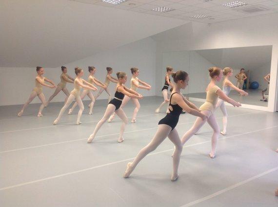 Projekto partnerio nuotr./Eglės Špokaitės baleto mokykla