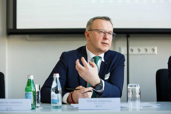 Lietuvos bankų asociacijos nuotr./Mantas Zalatorius