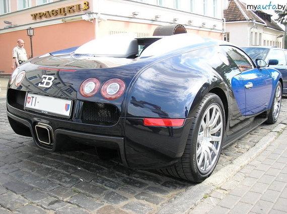 """myauto.by/Minske užfiksuotas automobilis """"Bugatti"""", kurio savininko adresas vedė į Šveicariją"""