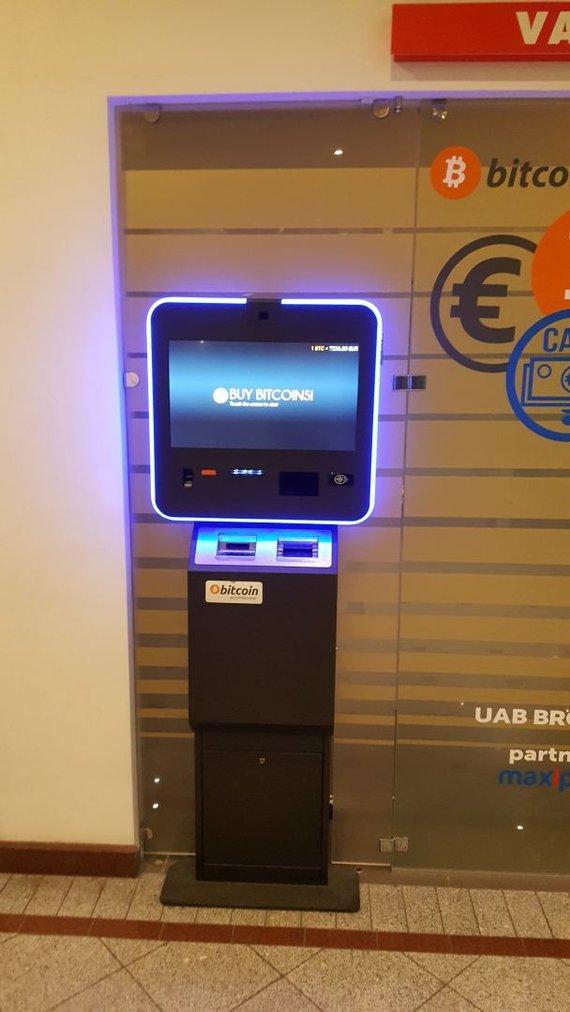 "Bitkoinų bankomatas ""Go9"""