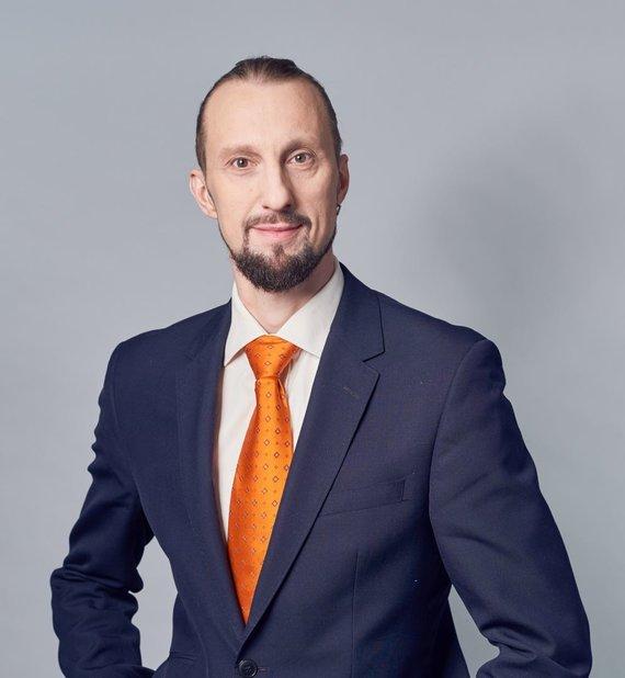 """Asmeninio archyvo nuotr./""""NRD CS"""" Informacijos saugos teisininkas, tyrėjas Šarūnas Virbickas"""