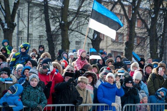 """AFP/""""Scanpix"""" nuotr./Estija švenčia nepriklausomybės šimtmetį"""