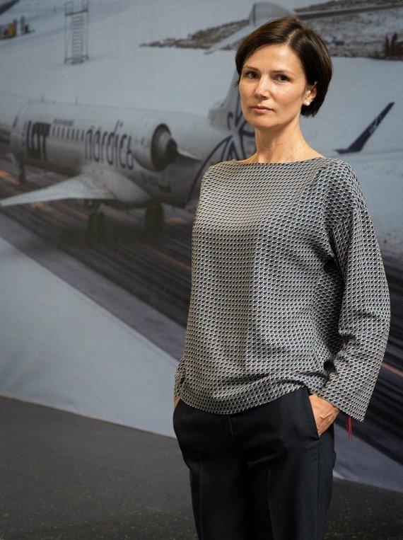 Milvydo Mažono nuotr./Lietuvos oro uostų vykdomoji direktorė Laura Joffė