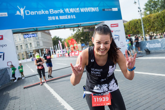 """Žygimanto Gedvilos / 15min nuotr./""""Danske bank"""" Vilniaus maratonas 2018"""