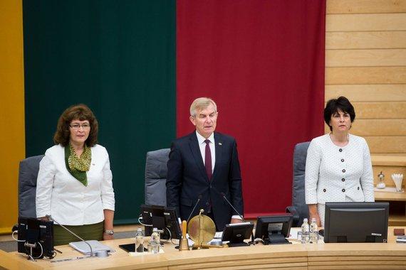 Žygimanto Gedvilos / 15min nuotr./Seime pradedama rudens sesija