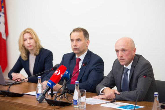 Žygimanto Gedvilos / 15min nuotr./Spaudos konferencija apie galimus pažeidimus Registrų centre