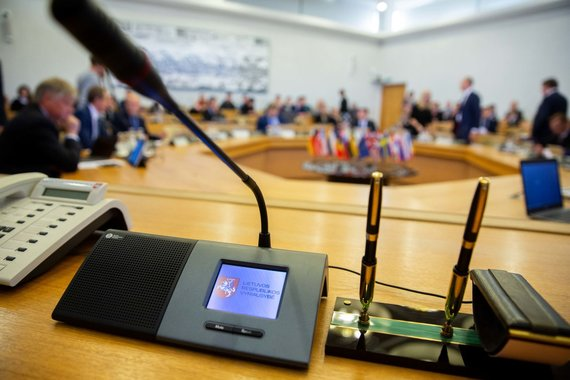 Žygimanto Gedvilos / 15min nuotr./Vyriausybės posėdžio akimirka