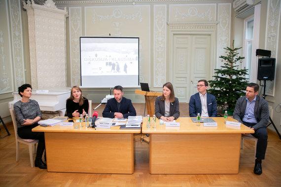 Žygimanto Gedvilos / 15min nuotr./Nacionalinės koncertų salės galimybių studijos pristatymas