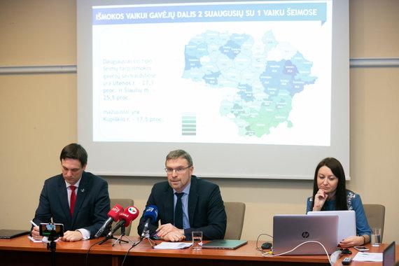 Žygimanto Gedvilos / 15min nuotr./Linas Kukuraitis (viduryje) ir Eglė Samoškaitė (dešinėje)