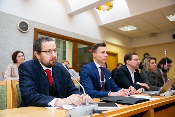 Žygimanto Gedvilos / 15min nuotr./Seimo Kultūros komiteto posėdis