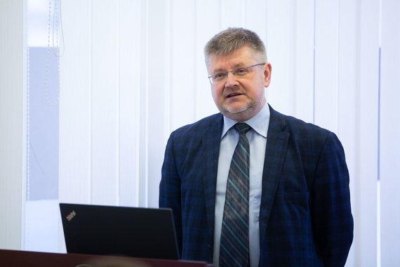 """Žygimanto Gedvilos / 15min nuotr./Muitinės departamente aptariamas pasirengimas pokyčiams po """"Brexit"""""""