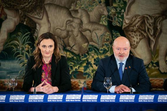 Žygimanto Gedvilos / 15min nuotr./Viktorija Čmilytė-Nielsen ir Eugenijus Gentvilas