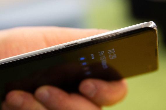 """Žygimanto Gedvilos / 15min nuotr./Išmanusis telefonas """"Samsung S10+"""""""