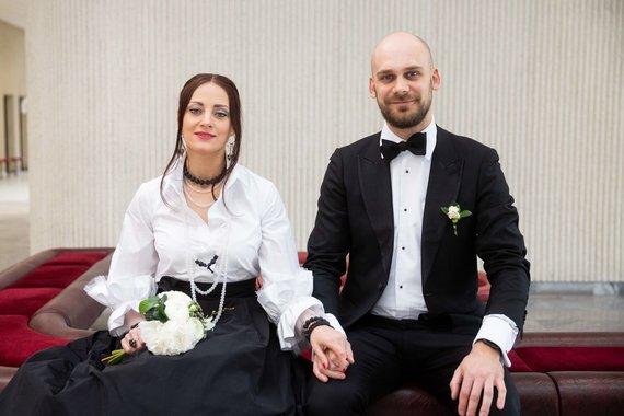 Žygimanto Gedvilos / 15min nuotr./Sigitos Jonynaitės ir Domo Žostauto vestuvų akimirka