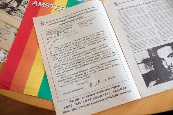 """Žygimanto Gedvilos / 15min nuotr./ Žurnale """"Naglis"""" paskelbtas jį uždrausti raginęs kreipimasis"""