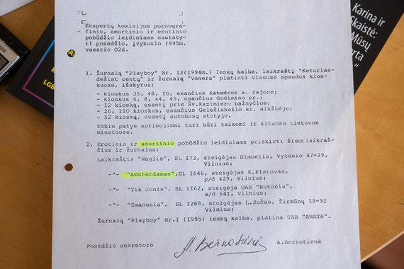 Žygimanto Gedvilos / 15min nuotr./Spaudos kontrolės tarnybos raštas