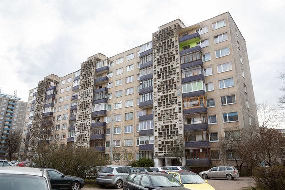 Žygimanto Gedvilos / 15min nuotr./Daugiabutis Architektų gatvėje