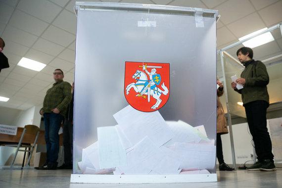 Žygimanto Gedvilos / 15min nuotr./Lietuvoje prasidėjo Respublikos Prezidento rinkimai