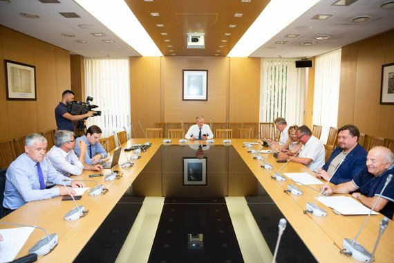 Žygimanto Gedvilos / 15min nuotr./Derybos dėl naujos Seimo koalicijos