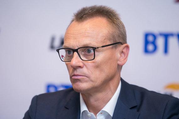 Žygimanto Gedvilos / 15min nuotr./LKL sezono pristatymo spaudos konferencija