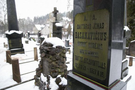 Žygimanto Gedvilos / 15min nuotr./Signataro Jono Basanavičiaus kapas