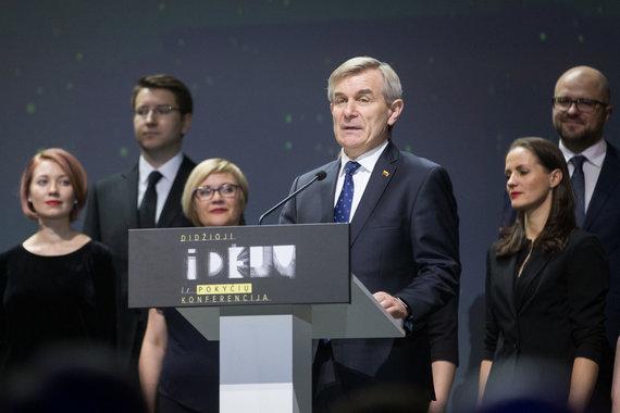 """Žygimanto Gedvilos / 15min nuotr./Iniciatyvos """"Idėja Lietuvai"""" idėjų pristatymas"""