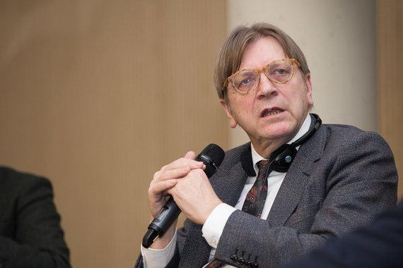 Žygimanto Gedvilos / 15min nuotr./Guy Verhofstadtas