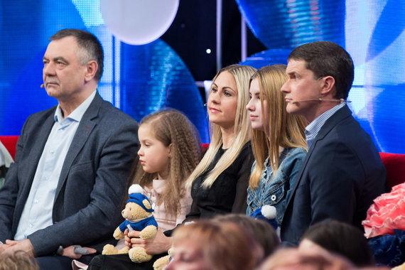 Žygimanto Gedvilos / 15min nuotr./Laura Asadauskaitė-Zadneprovskienė, Andrejus Zadneprovskis su vaikais