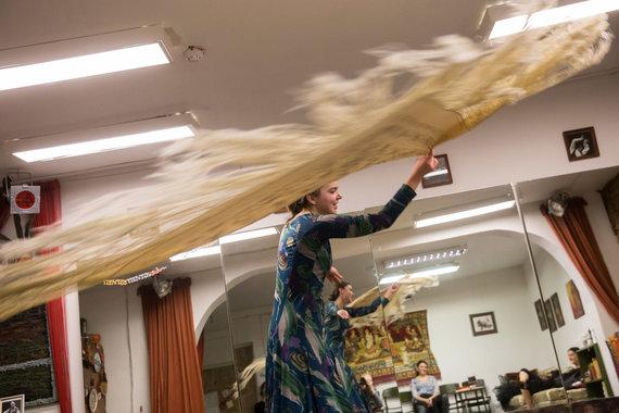 Žygimanto Gedvilos / 15min nuotr./Kauno teisėjos aistra – emocingas flamenko šokis
