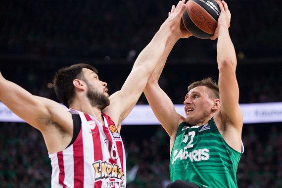 """Žygimanto Gedvilos / 15min nuotr./Eurolyga: """"Žalgiris"""" – """"Olympiakos"""""""