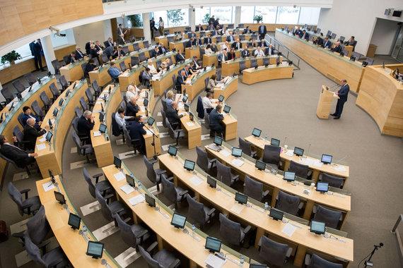 Žygimanto Gedvilos / 15min nuotr./Seime svarstomas klausimas dėl mokesčių reformos
