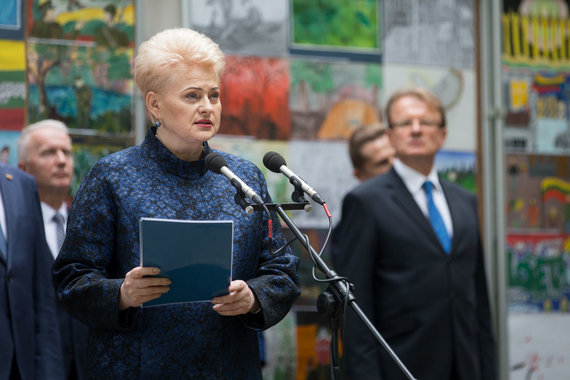 Žygimanto Gedvilos / 15min nuotr./Dalia Grybauskaitė