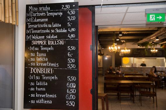 "Žygimanto Gedvilos / 15min nuotr./Restorano ""Kaskasakè"" meniu"