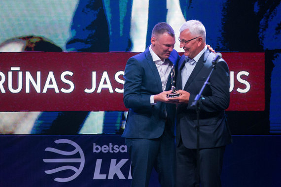 Žygimanto Gedvilos / 15min nuotr./2017/18 LKL sezono uždarymo ceremonija