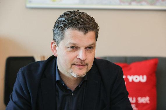 """Projekto partnerio nuotr./""""Circle K Lietuva"""" generalinis direktorius Skirmantas Mačiukas"""