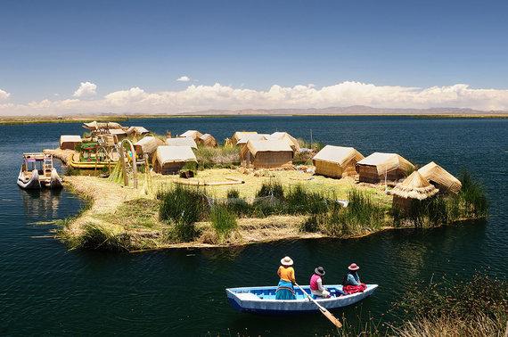 Shutterstock nuotr./Plaukiojančios salos, Peru