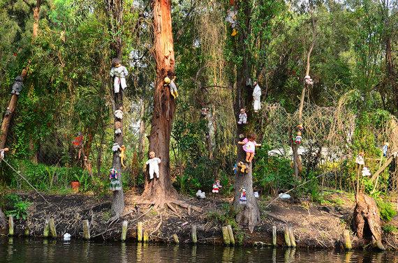 Shutterstock nuotr./Lėlių sala, Meksika