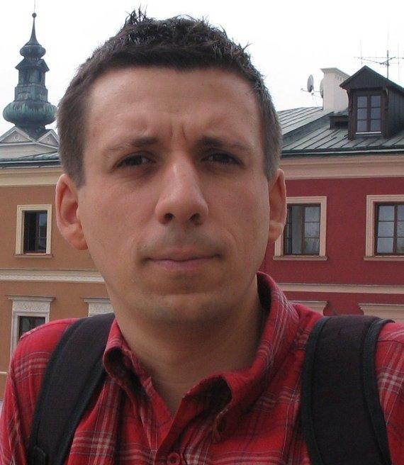 Asmeninio archyvo nuotr./ Łukaszas Kamieńskis