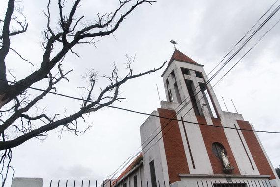 Bertos Tilmantaitės nuotr./Fatimos Mergelės lietuvių bažnyčia Cerro rajone Montevidėjuje
