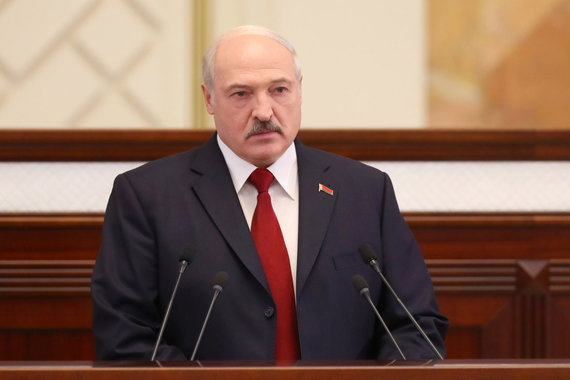"""Scanpix""/ITAR-TASS nuotr./Baltarusijos prezidentas Aliaksandras Lukašenka"