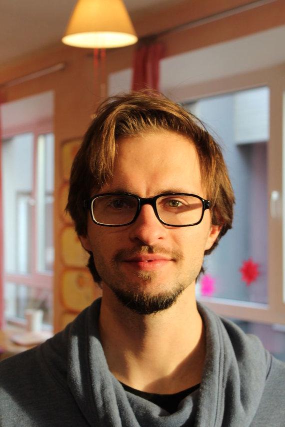 Asmeninio archyvo nuotr./IT mokytojas Tomas Šiaulys