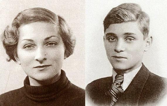 Asmeninio archyvo nuotr./Karmelos Nechmadaitės-Sternberg tėvai – Feiga Nechmodienė ir Salomonas Nechmodas