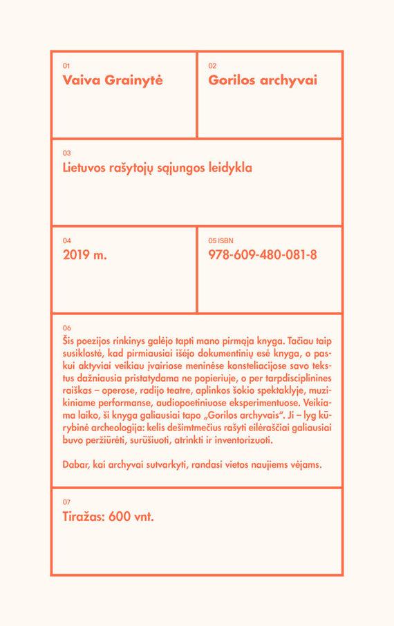 Lietuvos rašytojų sąjungos leidyklos nuotr./Vaiva Grainytė. Gorilos archyvai. Dailininkas Zigmas Griškevičius