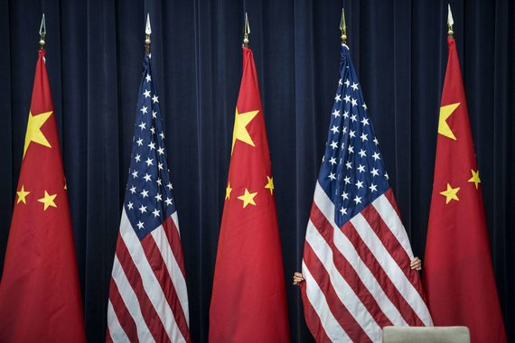"""AFP/""""Scanpix"""" nuotr./Kinija ir Jungtinės Amerikos Valstijos"""