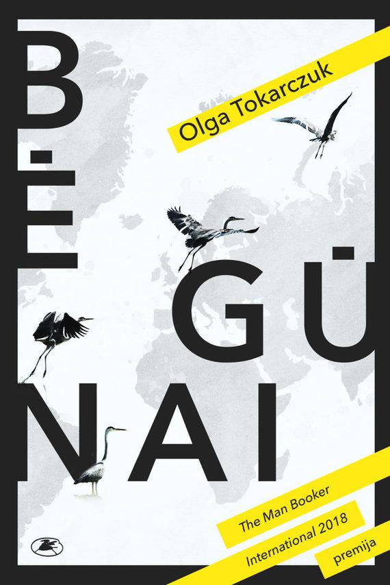 "Knygos viršelis/Olga Tokarczuk ""Bėgūnai"""
