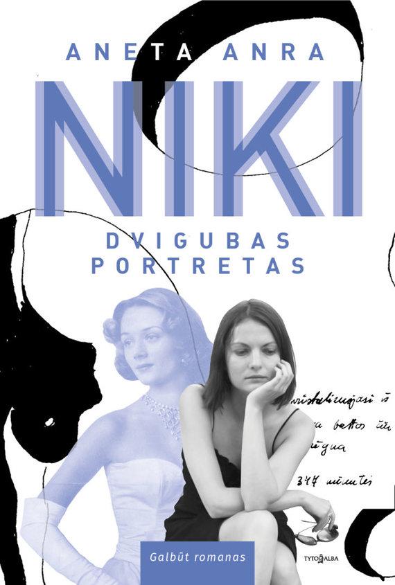 """Knygos viršelis/Aneta Anra """"Niki: dvigubas portretas"""""""