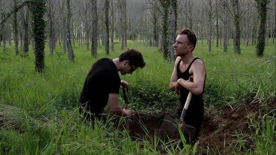 """Asmeninio archyvo nuotr./""""Promote The Digging"""" performansas"""