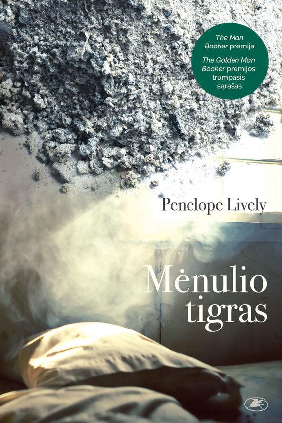 """Knygos viršelis/Penelope Lively """"Mėnulio tigras"""""""